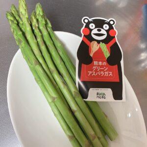熊本野菜をくまモンから♡